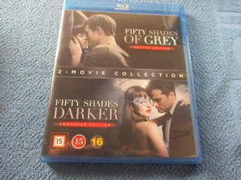 FIFTY SHADES OF GREY + FIFTY SHADES DARKER / BLU RAY SV TEXT
