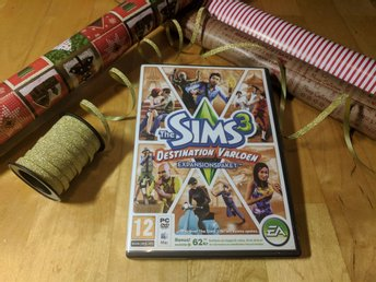 The Sims 3 - Destination Världen Expansionspaket PC Mac Spel - JULKLAPP!