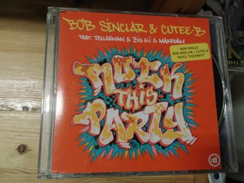 Bob Sinclar & Cutee B - Rock This Party (Everybody Dance Now), CD