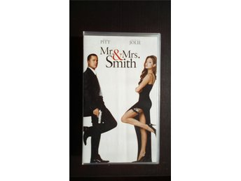 VHS: Mr & Mrs Smith (Brad Pitt, Angelina Jolie) 2005 action komedi