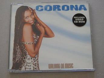 Corona - Walking on Music CD Singel (Includes Video CD-ROM) 1998 5Tracks