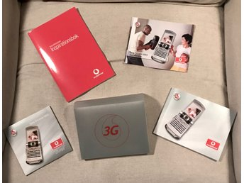 Sony Ericson V800 Vodafone Start kit. Instruktionsbok + CD Nostalgi