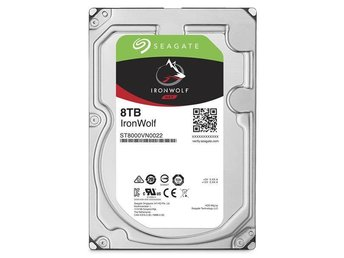 "Seagate IronWolf NAS HDD 3,5""  8TB, 256MB, 7200RPM"