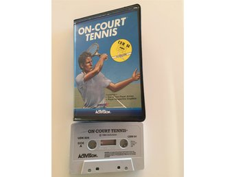 On Court Tennis C64 spel