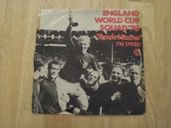 ENGLAND WORLD CUP SQUAD '70 - Back Home 7""