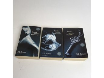 Serie, Böcker, Fifty Shades of Grey, E.L.James, 3st