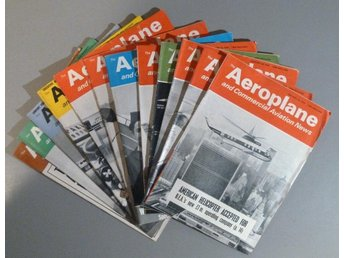 The Aeroplane and Comm Aviation News - 11 st tidningar 1964