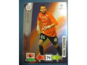 GOAL STOPPER -  GEOFFREY JOURDEN -  MONTPELLIER - CHAMPIONS LEAGUE 2012-2013