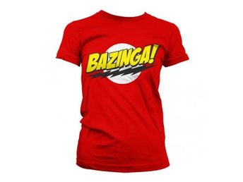 Big Bang Theory T-shirt Bazinga Dam L