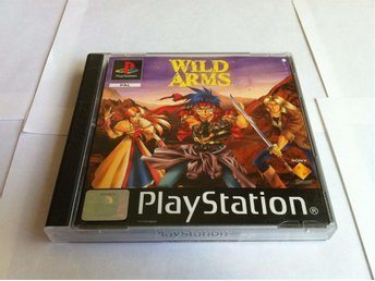 PS/PSone: Wild Arms (OBS Tysk)