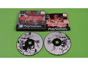 Metal Gear Solid KOMPLETT  Playstation psOne PS1