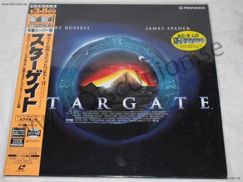 STARGATE - WIDESCREEN JAPAN LD