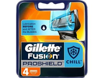 Gillette Fusion Proshield 4-pack Rakblad