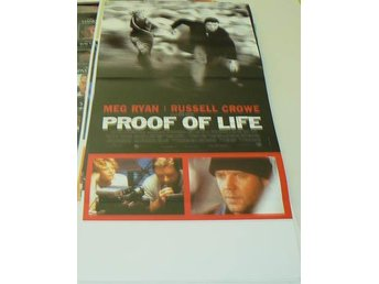 "RUSSEL CROWE ""PROOF OF LIFE"""