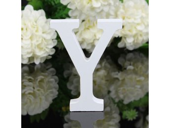 Letter Y Wooden Alphabet Freestanding Party Home Decor D3