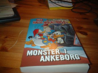 :WALT DISNEY:KALLES  ANKAS POCKET MONSTER I ANKEBORG