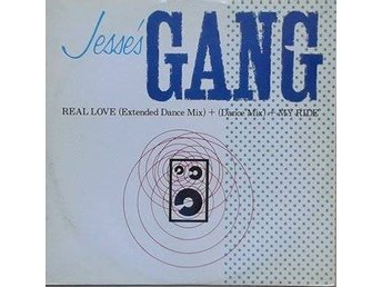 "Jesse's Gang title* Real Love* House, Synth-pop 12"" UK"