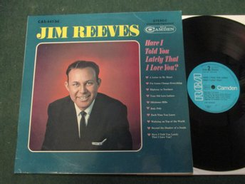 "Jim Reeves ""Have I Told You Lately That I Love You"