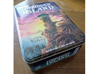 Forbidden Island tin box komplett!
