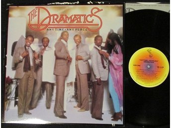 THE DRAMATICS - ANY TIME ANY PLACE (LP)
