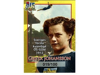 Alfa Hall of Fame Greta Johansson 019/100