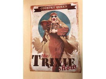 Grafisk poster A2 The Trixie Show (Rupauls drag race Trixie Mattel )
