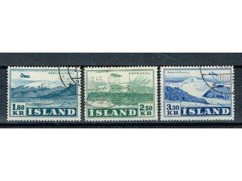 Island stämplat Facit 312-314 - Halmstad - Island stämplat Facit 312-314 - Halmstad