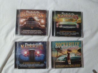 4 CD ROCKABILLY - ROCKABILLY NATIONALS 1,2,3 - ROCKABILLY SUMMER !!!