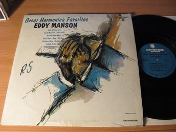 Eddy Manson. Great Harmonica Favorites. Movietone 1967 USA.