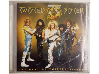 Cd - Twisted sister - Big hitts and nasty cuts