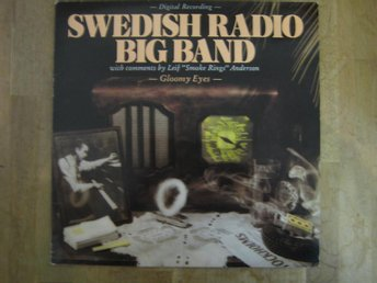 Swedish Radio Big Band-Gloomy Eyes  (LP) Blå vinyl.Toppskick!
