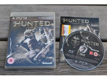 Hunted the Demons Forge PS3 Playstation 3 Komplett Demon's Fint Skick
