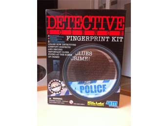 DETECTIVE SCIENCE FINGERPRINT KIT -OÖPPNAT-