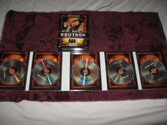 KRUTRÖK - GUNSMOKE THE MOVIE COLLECTION (JAMES ARNESS) 5-DISC DVD BOX