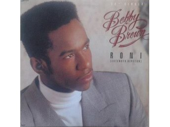 "Bobby Brown title* Roni (Extended Version)* 80's RnB, Hip-Hop 12"" US"
