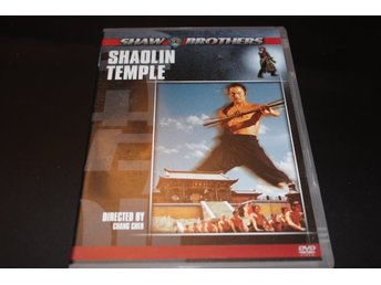 DVD-film: Shaolin Temple (Shaw Brothers)