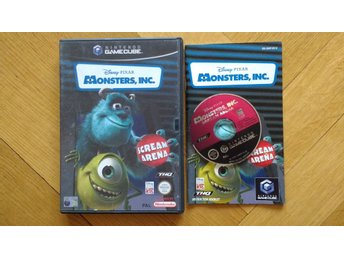 Nintendo GameCube: Monster's Monsters Inc Scream Arena