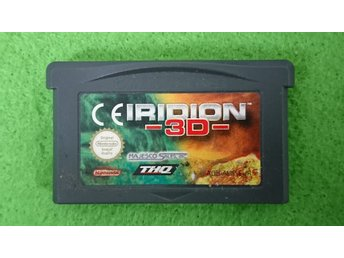 Iridion 3D Gameboy Advance Nintendo GBA