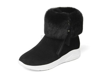 Dam Boots Keep Warm Winter Women Snow Boots Black 34