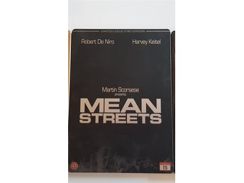 Mean Streets limited collectors edition dvd steelbook nyskick Scorsese