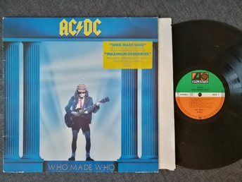 AC/DC - WHO MADE WHO - VINYL - HYPESTICKER - 1986 EUROPE