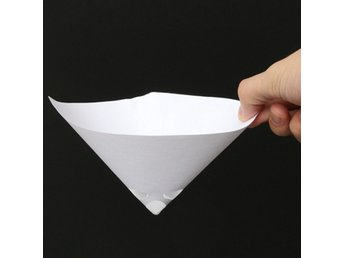 50pcs 190 Mesh Paper Paint Strainer Nylon Full Flow Conic...