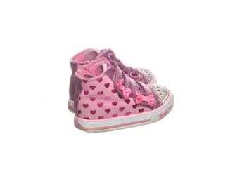 Twinkle Toes, LED-Sneakers, Strl: 22,5, Rosa/Lila/Vit