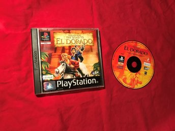 GOLD AND GLORY THE ROAD TO EL DORADO PS1 PLAYSTATION 1 PSONE