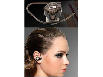 Ultralätt Bluetooth Headset Handsfree för iPhone mfl Coffee