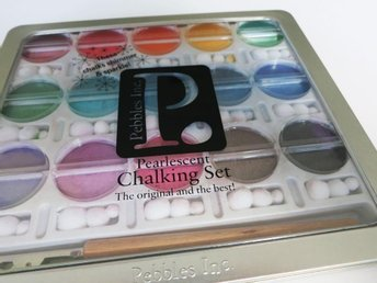 "Chalking Set ""Pearlescent Jewel Tones"" I Kan'dee Pebbles, chalks"
