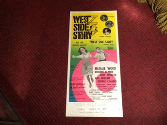 KULT-FILM WEST SIDE STORY Natalie WOOD Richard BEYMER Klassiker! FRI FRAKT