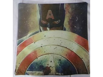 Captain America Kudde / Cushion Cover