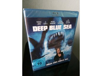 DEEP BLUE SEA Blu-ray Svensk text! (Renny Harlin) Skarsgård *Ny & Inplastad*