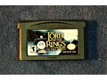 TV-SPEL   GAMEBOY ADVANCE   LORD OF THE RINGS   ENGELSK TEXT FINT SKICK
